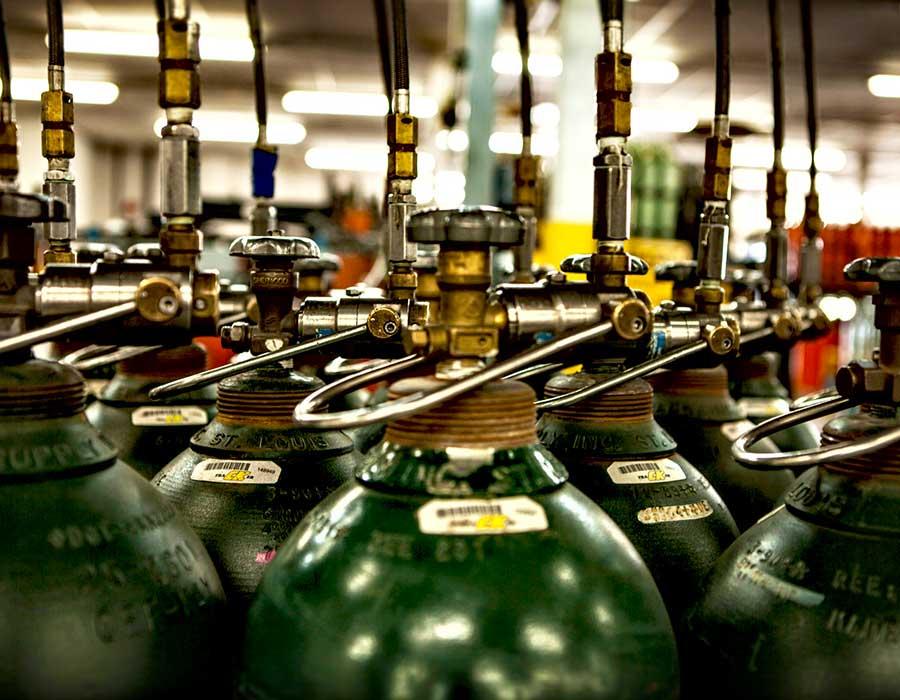 Sanayi Gazları ve Dolum Tankları